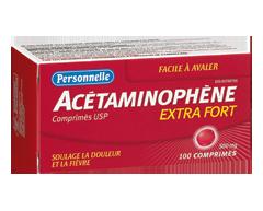 Image du produit Personnelle - Acétaminophène 500 mg, 100 comprimés