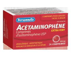Image du produit Personnelle - Acétaminophène 500 mg, 24 unités