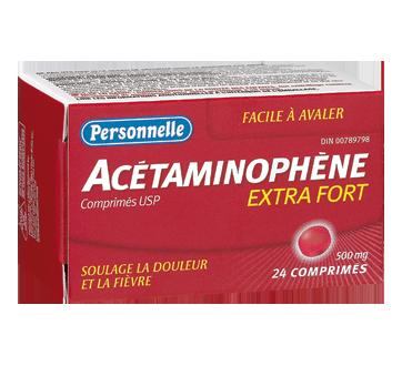 Image 2 du produit Personnelle - Acétaminophène 500 mg, 24 unités