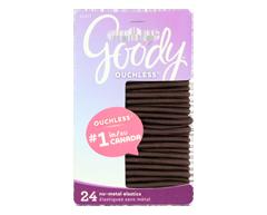 Image du produit Goody - Ouchless élastiques extra épais, 24 unités, brun