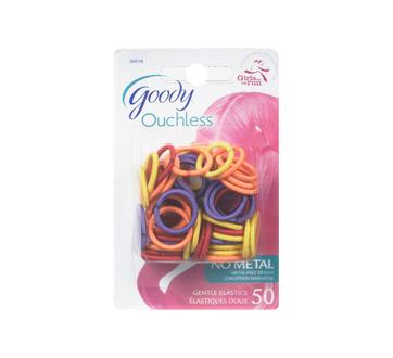 Ouchless mini élastiques 2mm, 50 unités, Roses