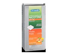 Image du produit Personnelle - Gomme de polacrilex de nicotine, Régulier, 2 mg, 30 morceaux