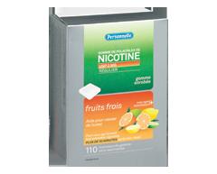 Image du produit Personnelle - Gomme de polacrilex de nicotine, régulier, Fruits frais, 2 mg, 110 morceaux
