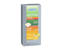 Image du produit Personnelle - Gomme de polacrilex de nicotine, extra fort, 4 mg, 30 morceaux