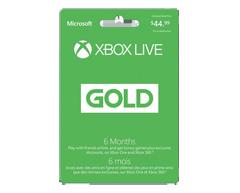 Image du produit Incomm - Abonnement Xbox Live Gold pour 6 mois , 1 unité