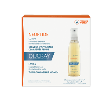 Néoptide pour cheveux clairsemés, 3 x 30 ml, plus de 6 mois