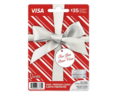 Image du produit Incomm - Vanilla Visa prépayée de 35 $, 1 unité