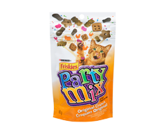 Image du produit Purina - Friskies Party Mix Croquant gâteries pour chats, 60 g