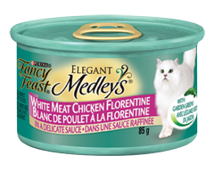 Image du produit Purina - Fancy Feast Medleys nourriture pour chats adultes, 85 g