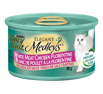 Fancy Feast Medleys nourriture pour chats adultes, 85 g
