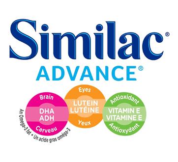 Image 3 du produit Similac - Similac Advance avec oméga-3 et oméga-6, en liquide concentré, 12 x 385 ml