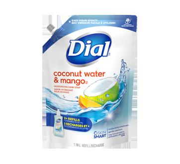 Savon pour les mains, 1,18 L, eau de coco et mangue