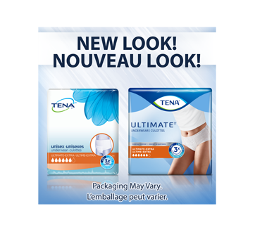 Image 3 du produit Tena - Ultimate culottes protectrices pour incontinence absorption, 14 unités, moyen
