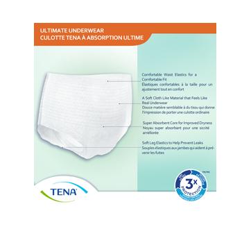 Image 5 du produit Tena - Ultimate culottes protectrices pour incontinence absorption, 14 unités, moyen