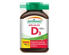 Image du produit Jamieson - Vitamine D  1,000 ui gelules, 150 unités