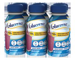 Image du produit Glucerna - Boisson nutritive, 6 x 237 ml, fruits sauvages