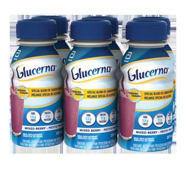 Image 1 du produit Glucerna - Boisson nutritive, 6 x 237 ml, fruits sauvages