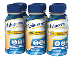 Image du produit Glucerna - Boisson nutritive, 6 x 237 ml, vanille