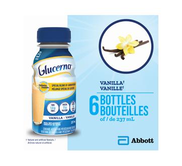 Image 3 du produit Glucerna - Boisson nutritive, 6 x 237 ml, vanille