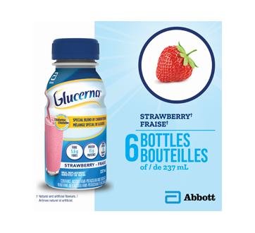 Image 3 du produit Glucerna - Boisson nutritive, 6 x 237 ml, fraise