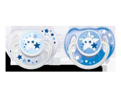 Image du produit Avent - Suces nocturnes sans BPA, 2 unités