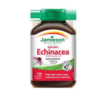 Image du produit Jamieson - Échinacée organique (Échinacée purpurea) 1,200 mg, 120 unités