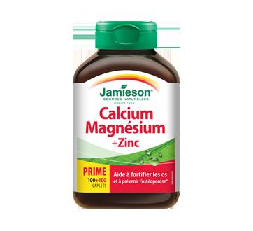 Image 1 du produit Jamieson - Calcium & magnésium + zinc, 100+100 unités