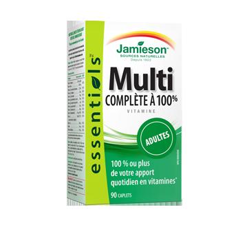 Image du produit Jamieson - Multivitamine complète à 100 % pour adultes, 90 unités