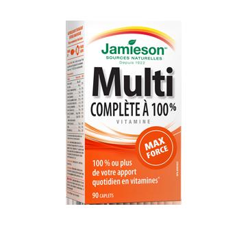 Image du produit Jamieson - Multivitamine complète à 100 % max force, 90 unités