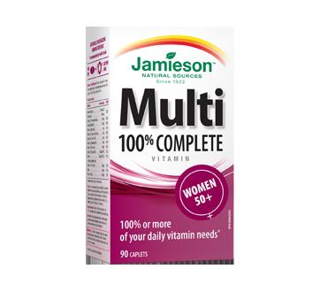 Image du produit Jamieson - Multivitamine complète à 100 % pour femmes 50+, 90 unités