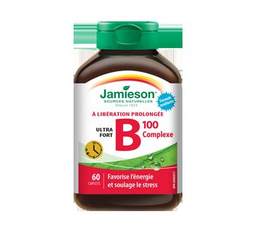 Image 1 du produit Jamieson - Complexe-B 100 mg libération pronlongée, 60 unités