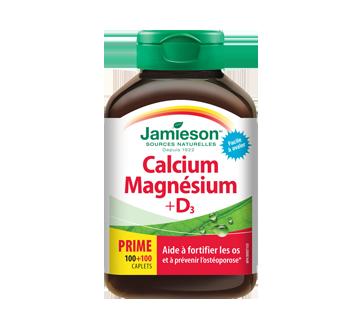 Image 1 du produit Jamieson - Calcium et magnésium avec vitamine D , 100+100 unités