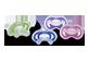 Vignette du produit Nuby - Jouet de dentition Gum-Eez, 1 unité