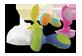 Vignette du produit Nuby - Nibbler avec couverture hygiénique, 2 unités