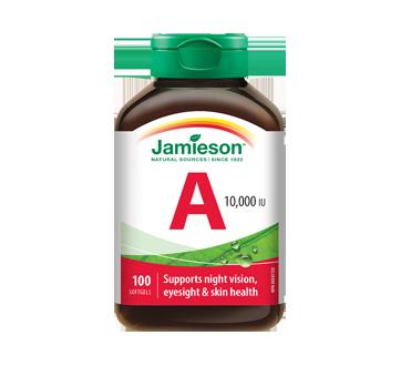 Image 1 du produit Jamieson - Vitamine A 10 000 UI, 100 unités