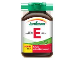 Image du produit Jamieson - Vitamine E 400 ui, 100 unités