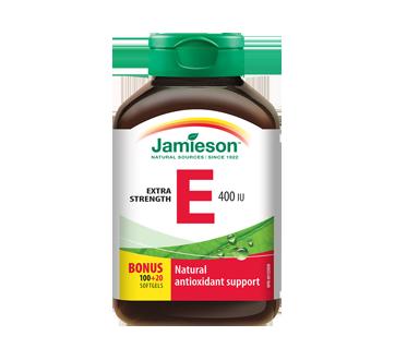 Image 1 du produit Jamieson - Vitamine E 400 ui, 100 unités
