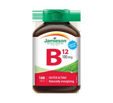 Image du produit Jamieson - Vitamine B12 100 mg, 100 unités