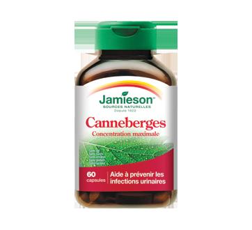 Image du produit Jamieson - Complexe canneberges concentré 500 mg, 60 unités