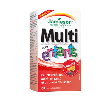 Image du produit Jamieson - Multivitamine pour enfants à croquer, 60 unités