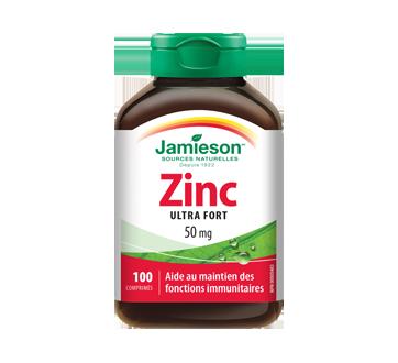 Image 1 du produit Jamieson - Zinc 50 mg, 100 unités