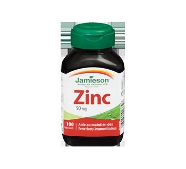 Image 3 du produit Jamieson - Zinc 50 mg, 100 unités