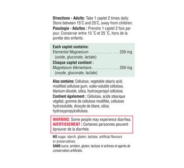 Image 3 du produit Jamieson - Magnesium 250 mg, 90 unités
