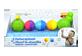 Vignette du produit Lalaboom - Plouf la chenille jouets de bain, 8 unités
