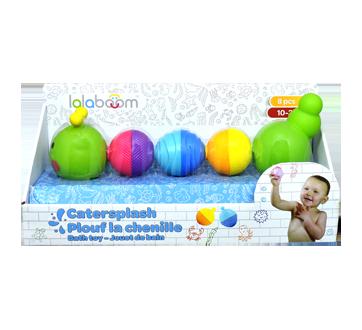 Plouf la chenille jouets de bain, 8 unités