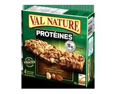 Image du produit Val Nature - Barres protéines arachides amandes chocolat, 148 g