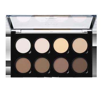 Image 2 du produit NYX Professional Makeup - Palette professionnelle pour illuminer et accentuer les contours, 1 unité