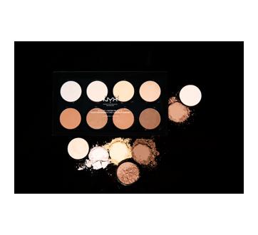Image 4 du produit NYX Professional Makeup - Palette professionnelle pour illuminer et accentuer les contours, 1 unité