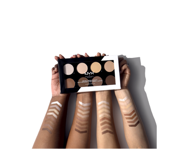 Image 6 du produit NYX Professional Makeup - Palette professionnelle pour illuminer et accentuer les contours, 1 unité