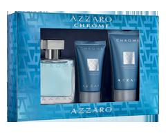 Image du produit Azzaro - Coffret Chrome, 3 unités